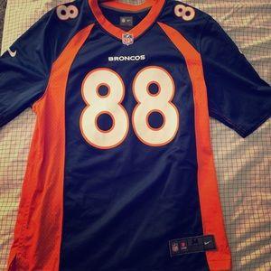 Nike Denver Broncos Jersey #88 Demarious Thomas